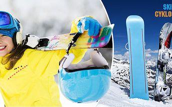 Velký servis lyží a snowboardů