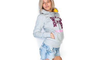 Dámská Mikina s kapucí Reebok Classic Drop R Grey Heather
