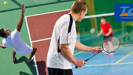Pět vstupů na badminton či tenis