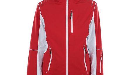 Dámská červená funkční bunda s bílými detaily Blizzard