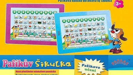 Dětský tablet PAFÍKŮV ŠIKULKA s doručením zdarma