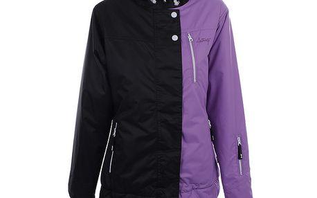 Dámská fialovo-černá sportovní bunda Authority