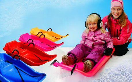 Dětské boby pro zimní radovánky