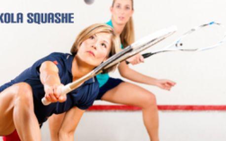 Škola squashe pro děti i dospělé s báječnou slevou...