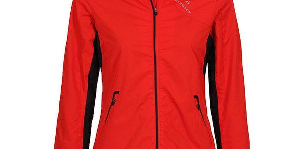 Dámská červená outdoorová bunda Bergson