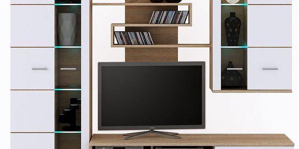 Obývací stěna nadčasového designu 200 x 45 cm SCONTO NINA