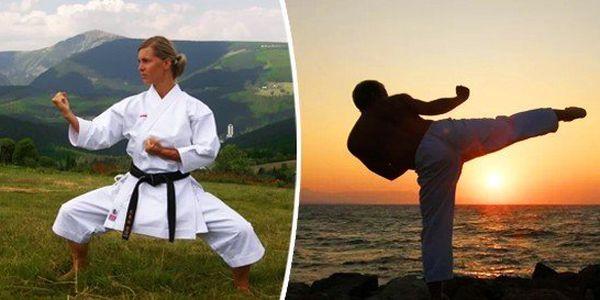 Karate/ Sebeobrana pro ženy i muže - 8 vstupů
