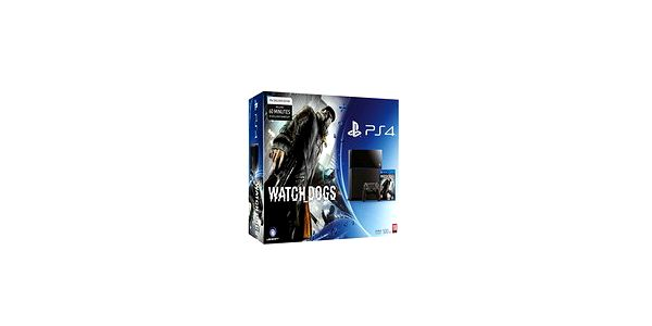 Konzole PlayStation 4 500 GB + Watch Dogs (PS4)