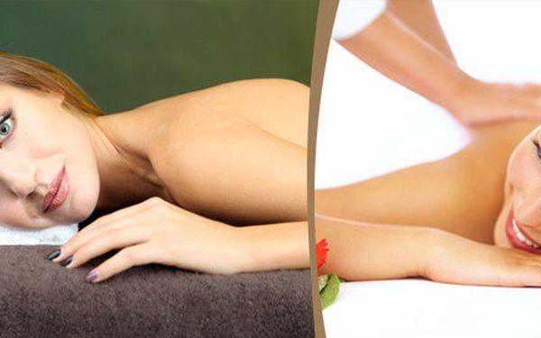 Regenerační nebo Breussova masáž doplněná světelnou terapií nebo lávovými kameny