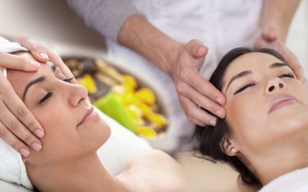 60minutová antistresová indická masáž hlavy + liftingová masáž obličeje, krku a dekoltu s ametystem!