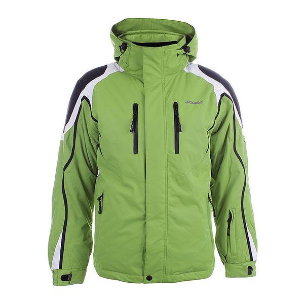 Pánská zelená zimní bunda Joluvi