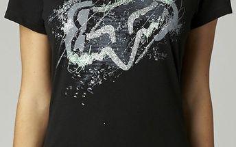 Dámské tričko FOX Eccentrix Crew černá