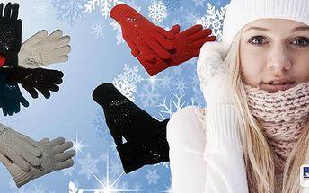 Dámské prstové rukavice s kamínky - různé barevné varianty a doručení zdarma! Rukavice jsou nezbytnou výbavou pro chladnější dny. Tyto prstové rukavičky nejen skvěle zahřejí, ale budou i elegantním doplňkem Vašeho outfitu.