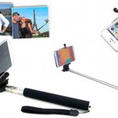 Teleskopický držák na telefon či fotoaparát