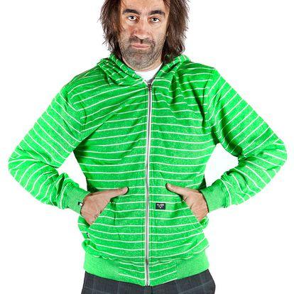 Pánská mikina Globe Gillett zelená