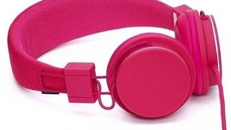 Sluchátka URBANEARS PLATTAN MIC růžová