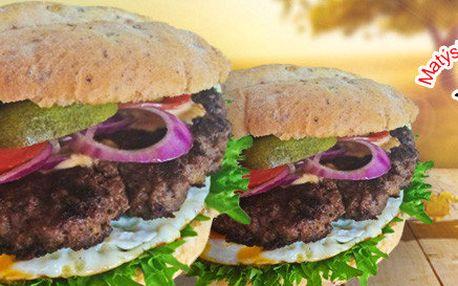 2x800g burger z Matýskovy bašty + doprava zdarma