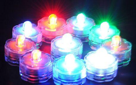 Čajová LED svíčka - v 5 barvách