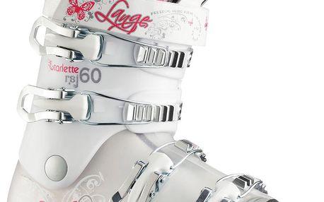 Boty pro mladé lyžařky Lange Starlette 60 Bílá/Růžová 23