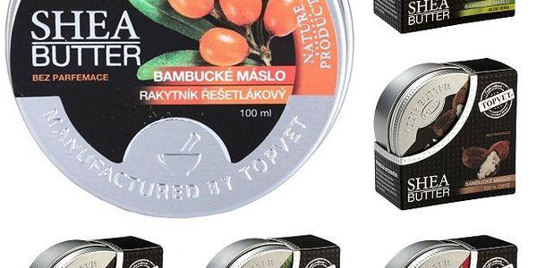 Bambucké máslo Shea Butter 100% 30 ml - vyzkoušejte blahodárné účinky na pleť! - doprava ZDARMA!
