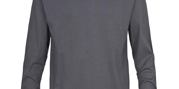 Pánské šedé lyžařské polo tričko Trespass