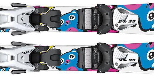 Dětské lyže Sporten Teddy Bear ideální pro první krůčky na opravdové sjezdovce