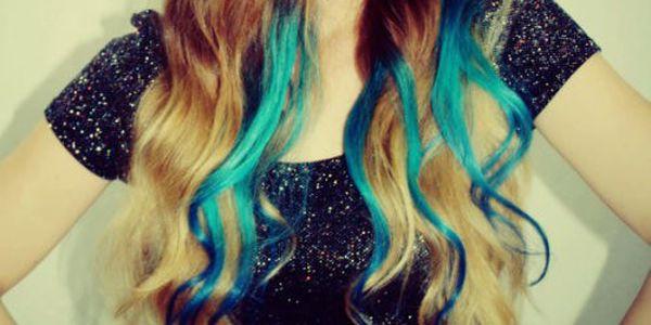 Clip-In barevné prameny do vlasů - osvěžte svůj nudný účes! - doprava ZDARMA!