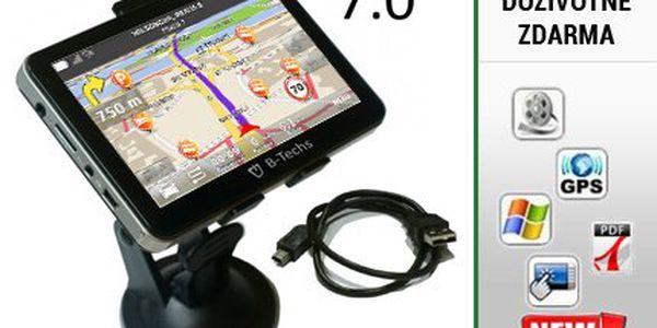 """7"""" GPS navigace s aktualizací map již od 1849 Kč!"""