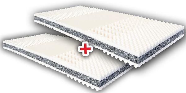 Oboustranná matrace Prima 90x200 cm 1+1