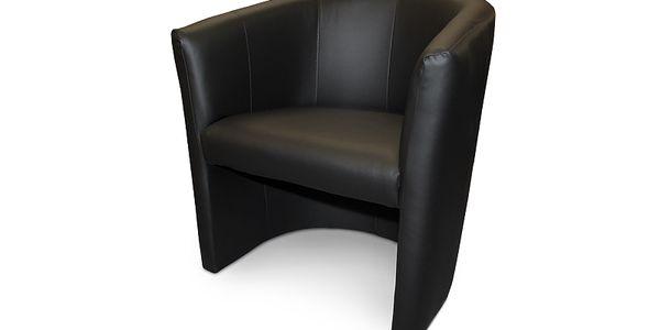 Moderní křeslo ASPOL Cube (černá)