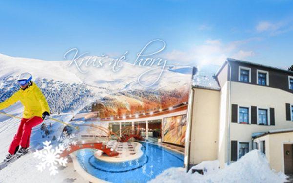 Lyžování s relaxací a spoustou bonusů v Krušných horách pro 2 osoby na 3 dny s polopenzí v penzionu U Pohody!