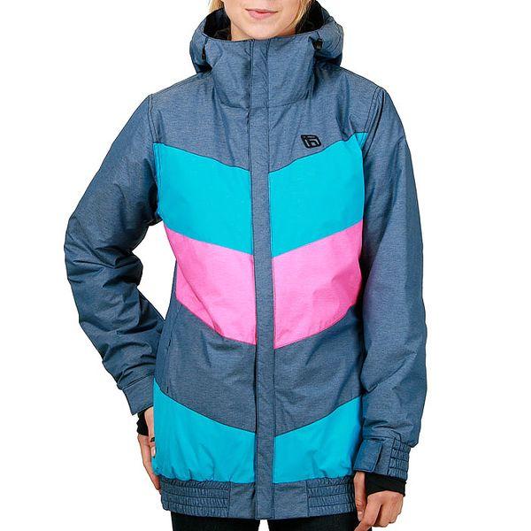 Dámská zimní bunda Funstorm Keetna modrá