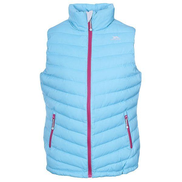 Dámská tyrkysová péřová vesta Trespass