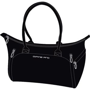 Dámská černá sportovní kabelka Alpine Pro