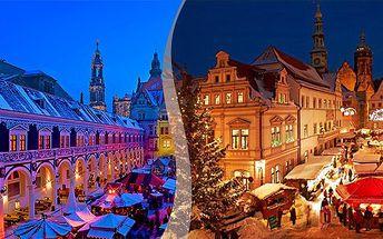 jednodenní zájezd na adventní trhy do Drážďan