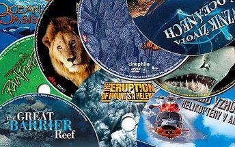 Poučná kolekce 20 dokumentárních filmů na DVD