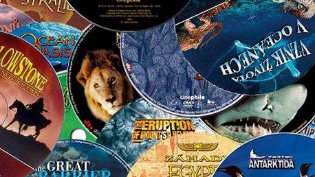 32 dokumentů ze života zvířat, techniky i historie na DVD