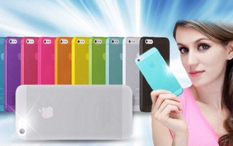 Ultratenké silikonové kryty pro mobilní telefon Apple iPhone 4 a 4s, 5 a 5S a 6 nebo 6+! Více barevných variant!