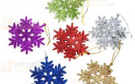 Vánoční ozdoby na stromeček - sněhové vločky a poštovné ZDARMA! - 9999914846
