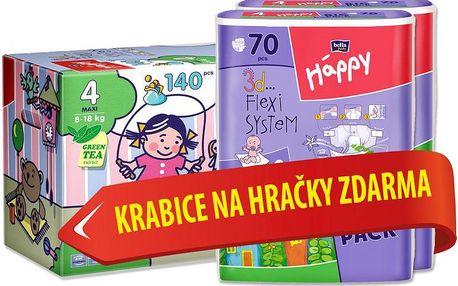 Plenky s veselými obrázky Bella Happy Maxi Big Pack - 140 ks