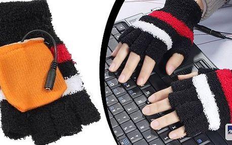 Super vychytávka - USB hřejivé rukavice jsou ideální pro věčné zmrzlíky, jak k PC, tak na běžné nošení. Uvnitř rukavic jsou vyhřívané podložky, které se při zapojení do USB začnou nahřívat. Během minutky budete mít ruce v teple.