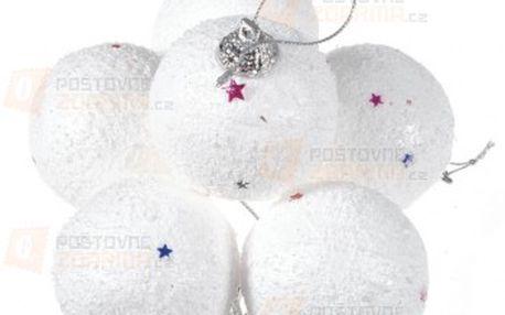 Vánoční ozdobné koule na stromeček a poštovné ZDARMA! - 9999914812