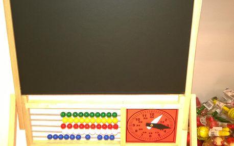 Tabule Start, s čísly, hodinami a počítadlem