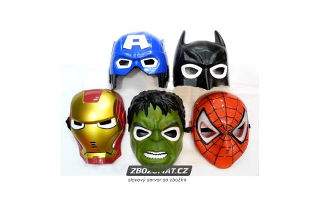Superhrdinovská svítící maska pro děti!