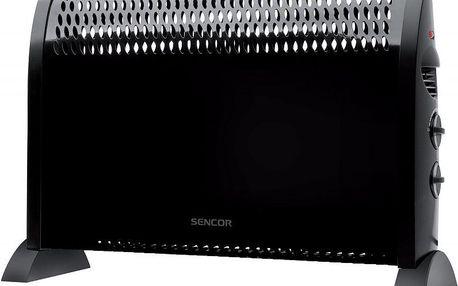 Konvektor SCF 2004 v moderním černém designu