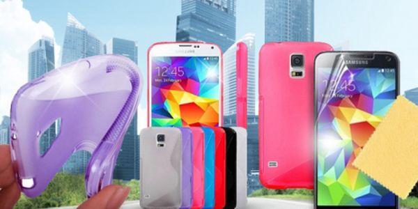 Silikonový ochranný kryt pro mobilní telefon Samsung Galaxy S5!