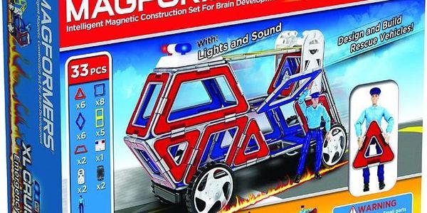 Stavebnice Magformers XL Cruisers - Záchranáři