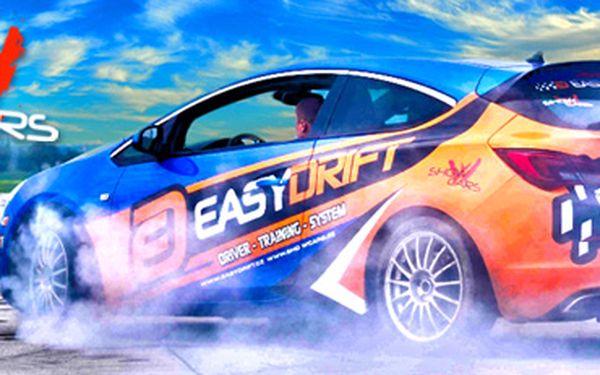 30 min. řidičem driftovací káry! Revoluce v jízdě smykem s EasyDrift! Skvělý dárek!