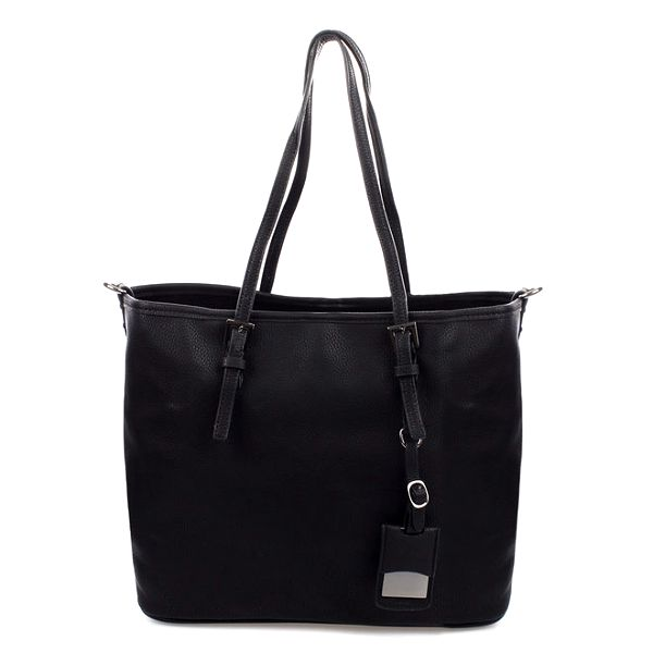 Dámská černá kabelka s ramenním popruhem Bessie