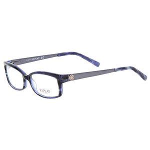 Dámské modře žíhané plastové brýle Replay